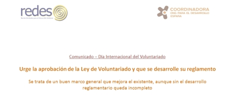 comunicado voluntariado